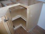 This 1 of 2 lower cabinet lazy-susan's